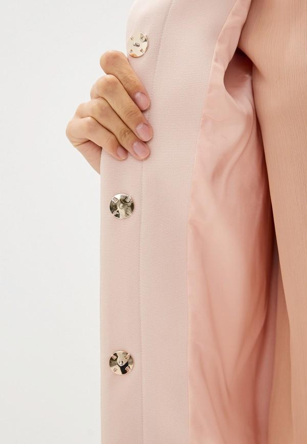 Фото 4 - женское пальто или плащ Liu Jo розового цвета