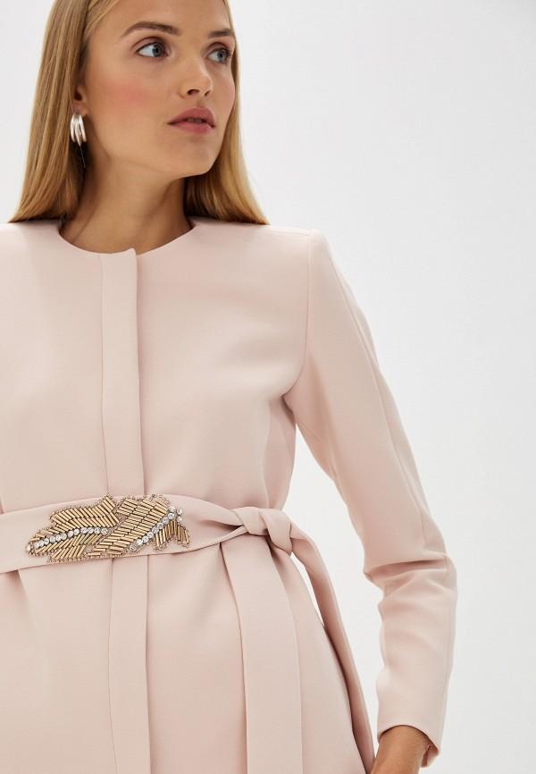 Фото 5 - женское пальто или плащ Liu Jo розового цвета