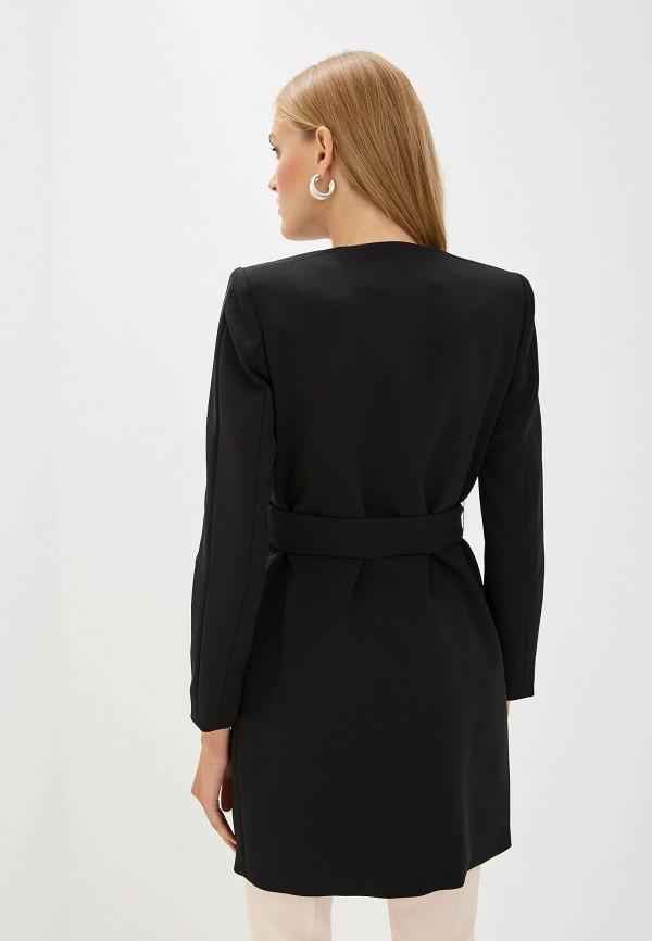 Фото 3 - женское пальто или плащ Liu Jo черного цвета