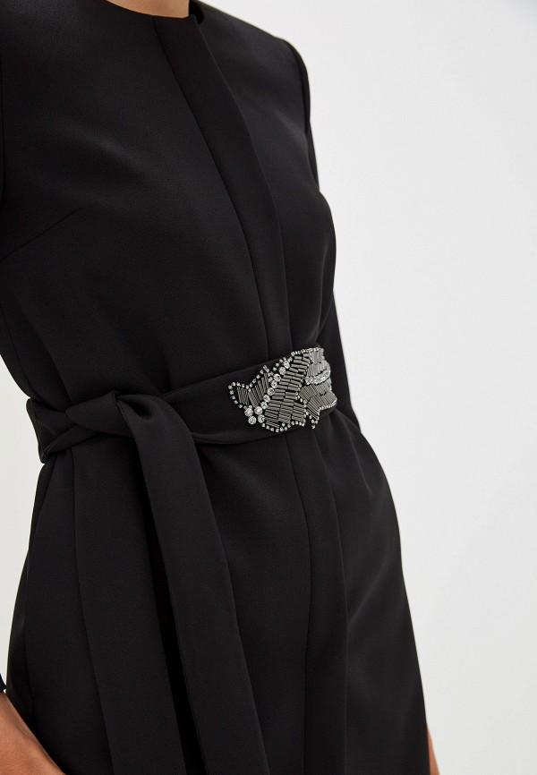Фото 5 - женское пальто или плащ Liu Jo черного цвета