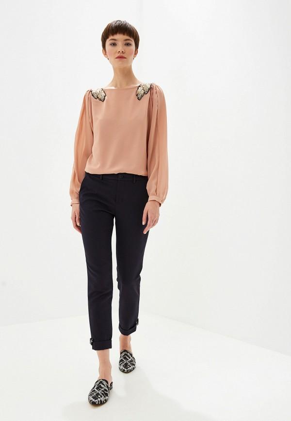 Фото 2 - Блузу Liu Jo розового цвета