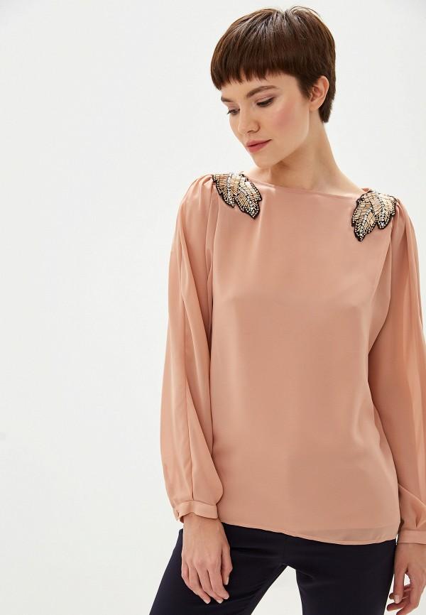 Фото 5 - Блузу Liu Jo розового цвета