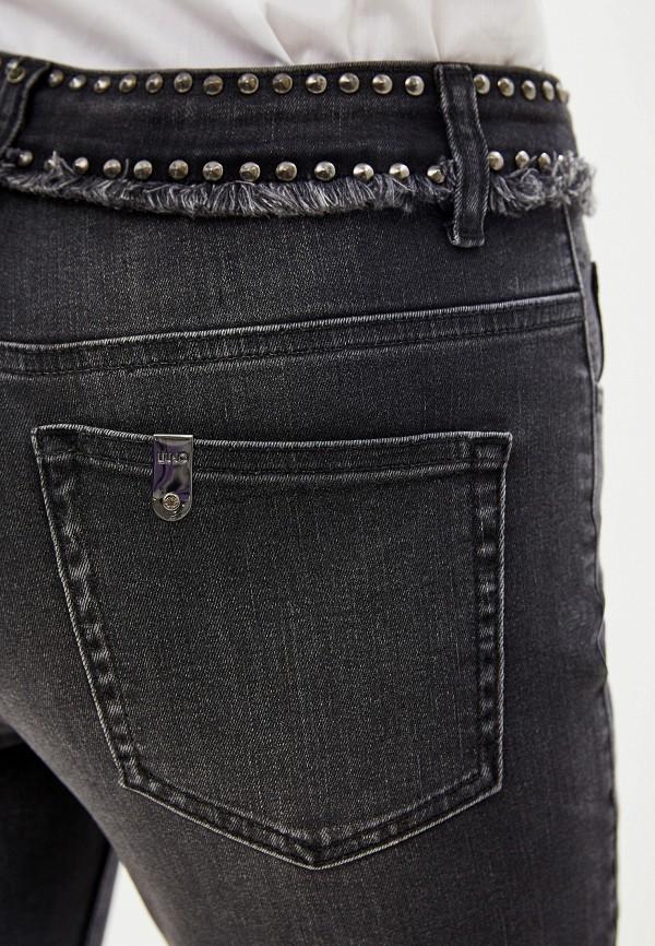 Фото 4 - женские джинсы Liu Jo черного цвета