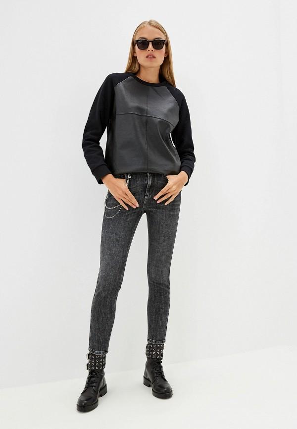 Фото 2 - женские джинсы Liu Jo серого цвета