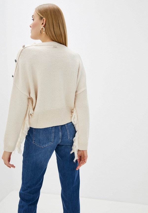 Фото 3 - женский пуловер Liu Jo бежевого цвета