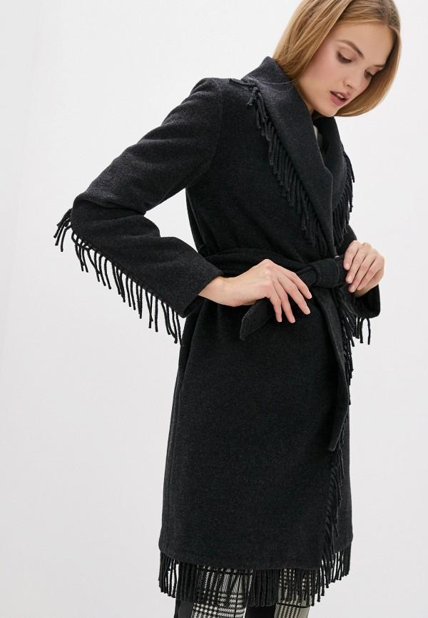 женское пальто liu jo, серое