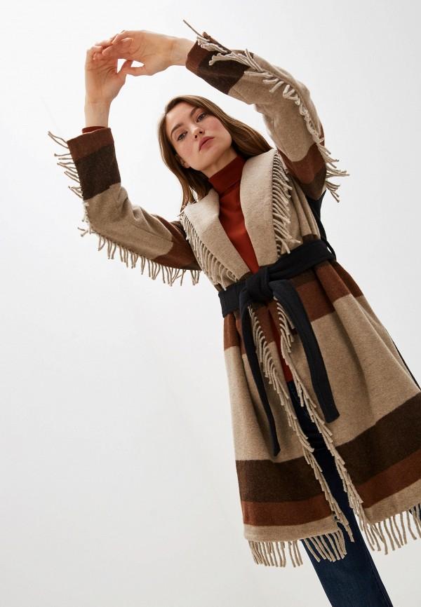 женское пальто liu jo, разноцветное