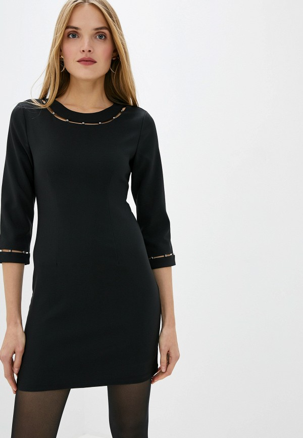 Фото - женское повседневное платье Liu Jo черного цвета