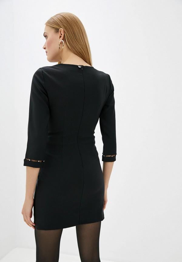 Фото 3 - женское повседневное платье Liu Jo черного цвета