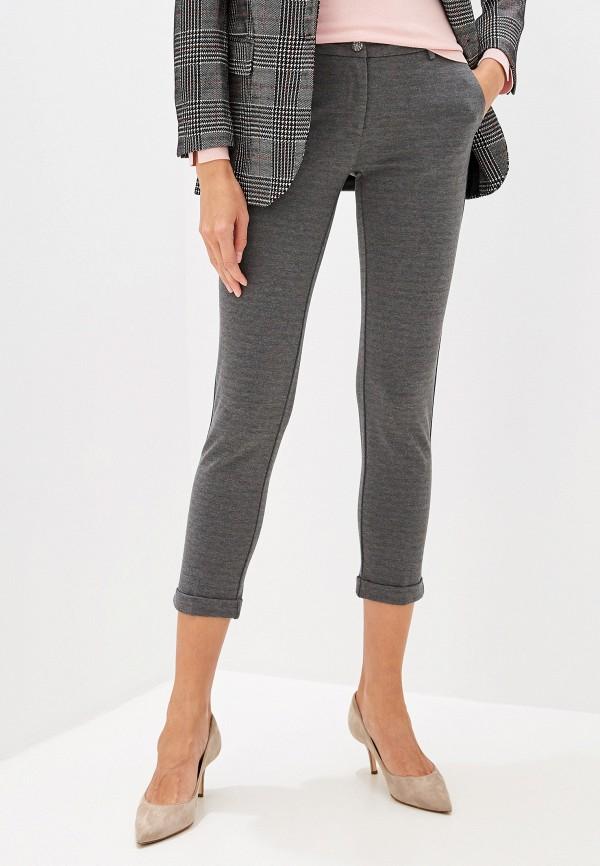 женские классические брюки liu jo, серые