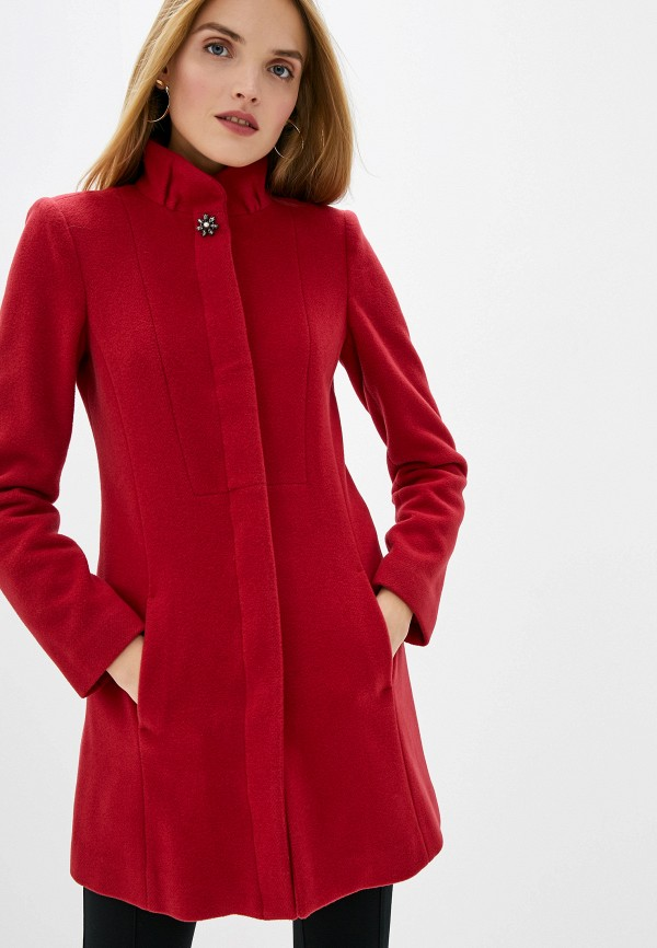 женское пальто liu jo, красное