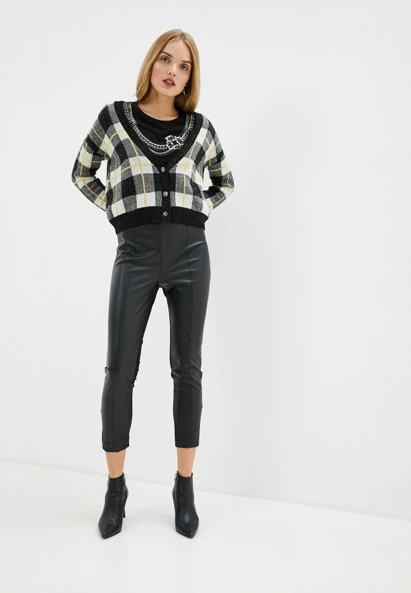 Фото 2 - женские брюки Liu Jo черного цвета