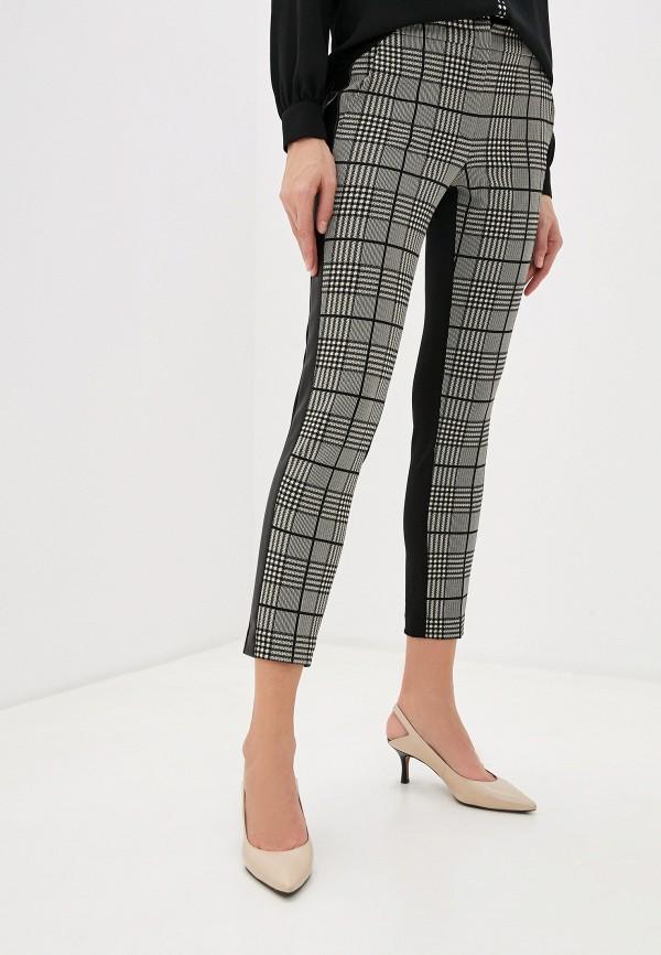 женские классические брюки liu jo, коричневые