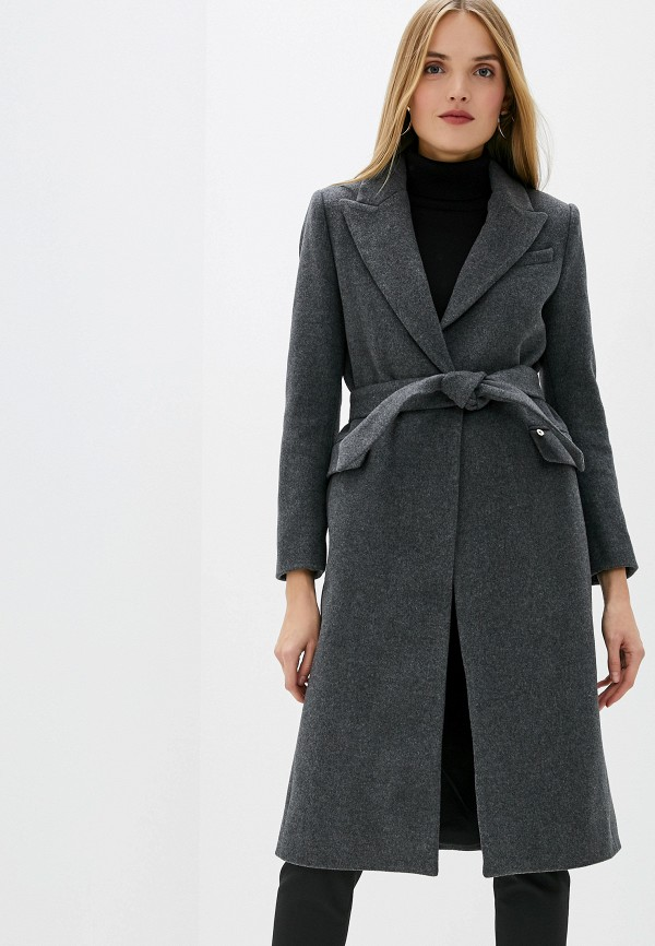 Фото - женское пальто или плащ Liu Jo серого цвета