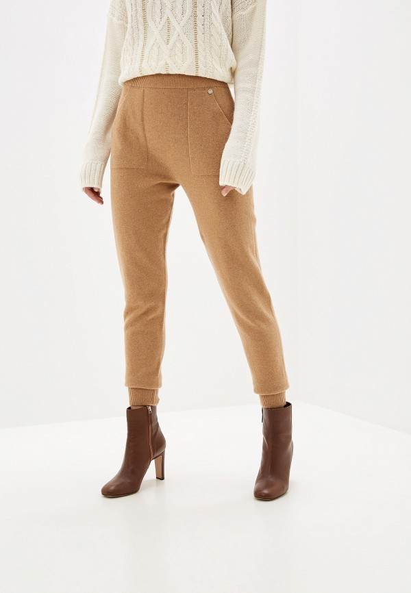 женские классические брюки liu jo, бежевые