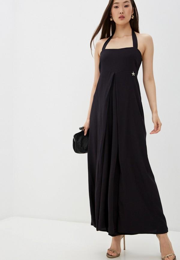 женский комбинезон с брюками liu jo, черный