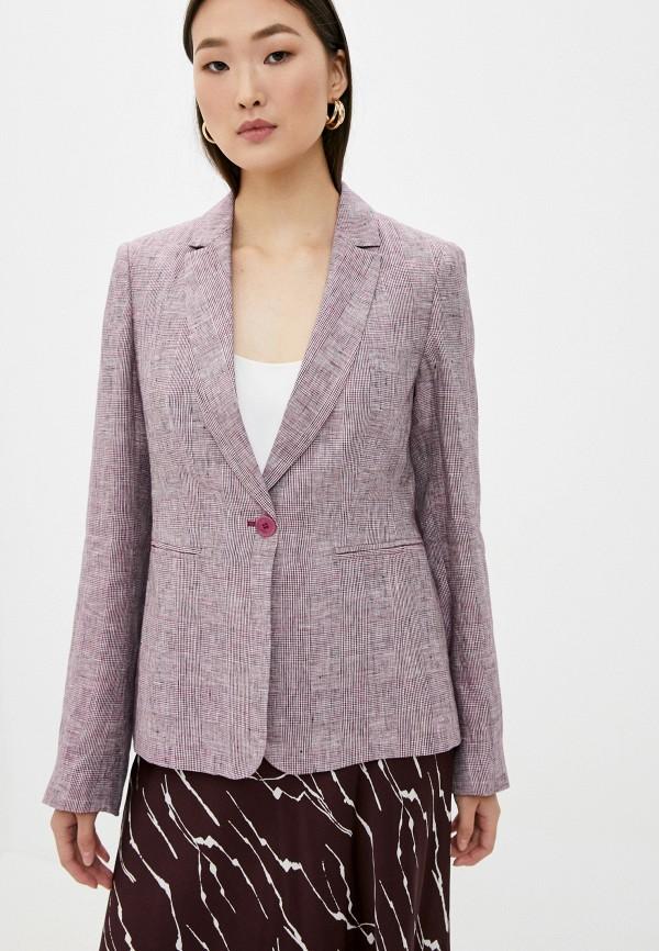 женский пиджак liu jo, фиолетовый