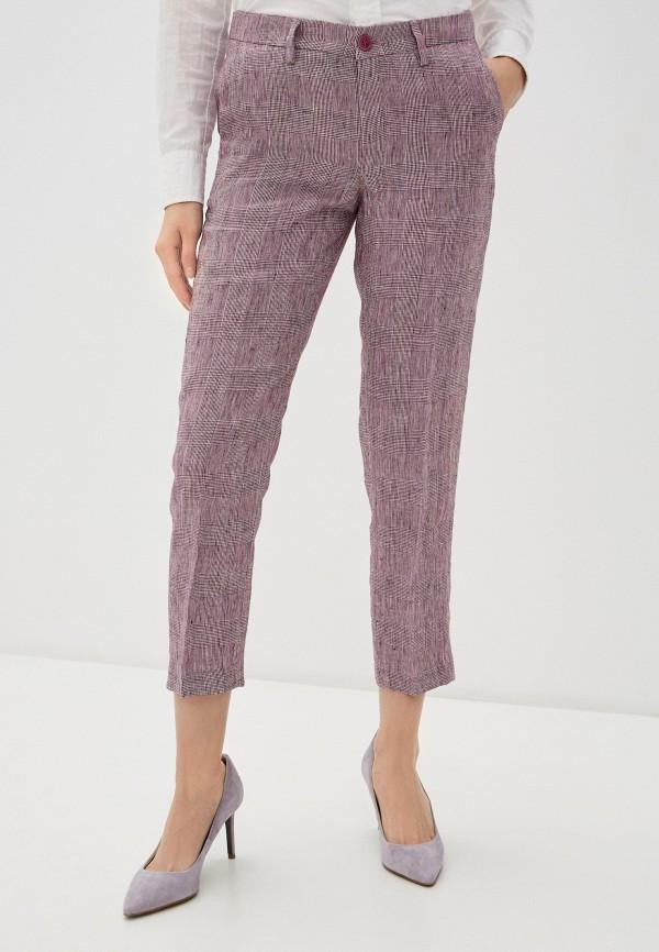 женские повседневные брюки liu jo, фиолетовые