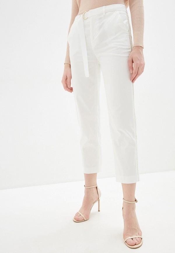 женские повседневные брюки liu jo, белые