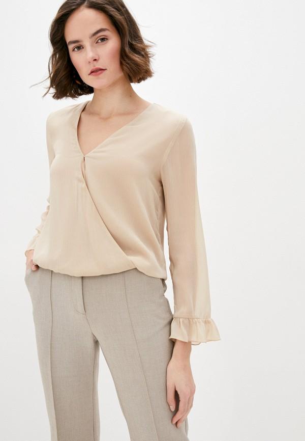 женская блузка liu jo, бежевая