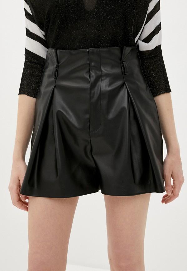 женские повседневные шорты liu jo, черные