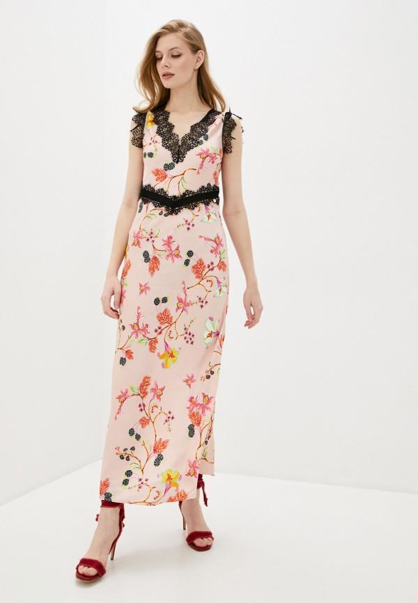 женское повседневные платье liu jo, розовое