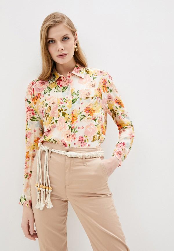 женская блузка liu jo, разноцветная