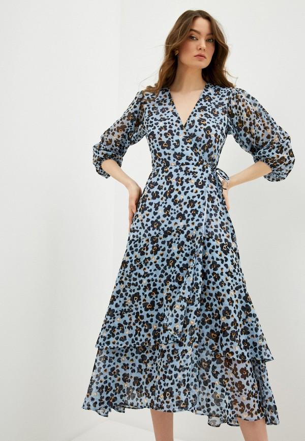 женское платье liu jo, голубое