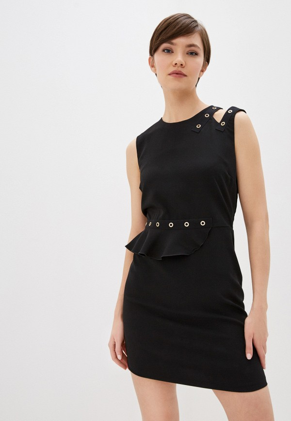 женское платье-футляр liu jo, черное
