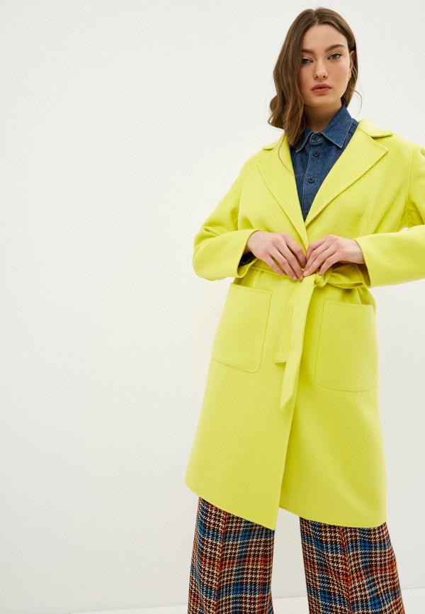 женское пальто liu jo, желтое