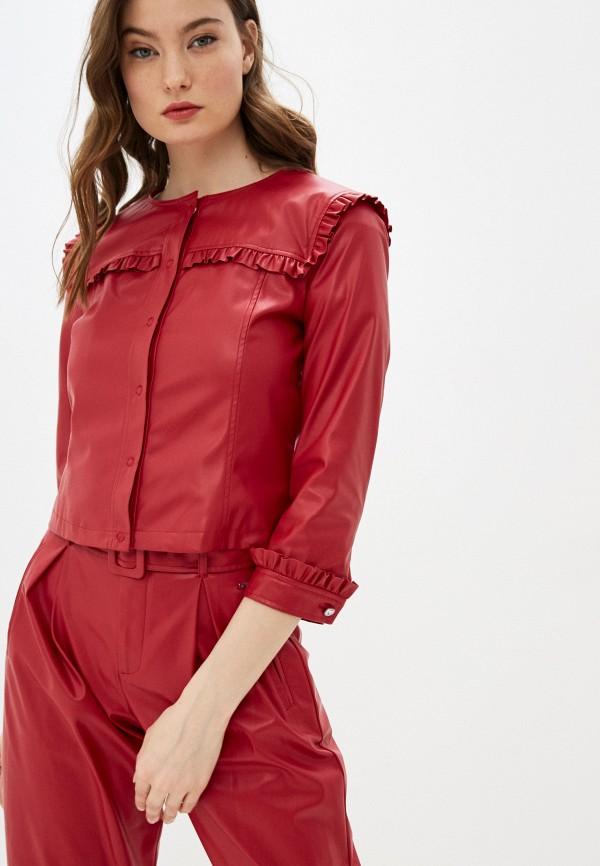 женская куртка liu jo, красная