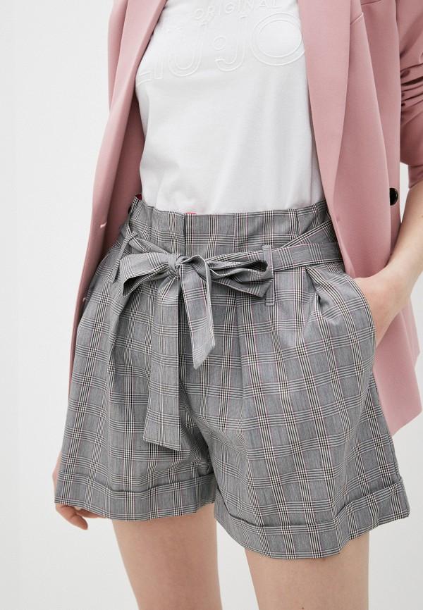 женские повседневные шорты liu jo, серые