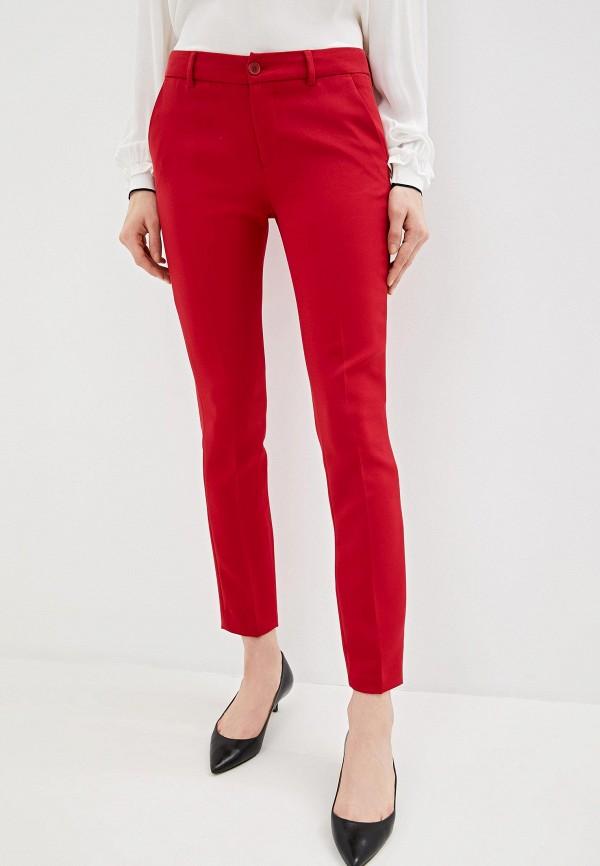 женские классические брюки liu jo, красные