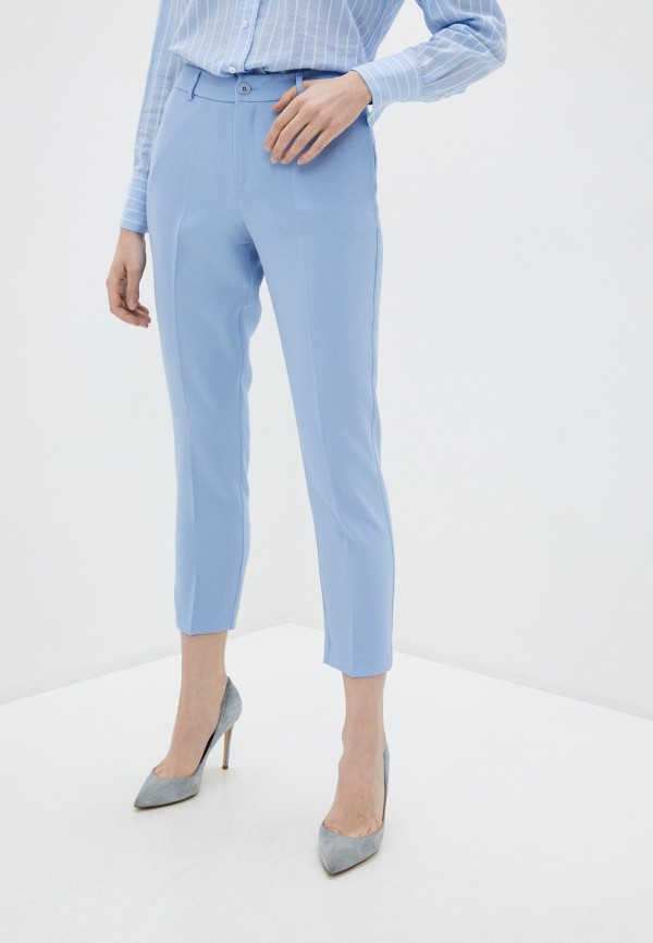 женские повседневные брюки liu jo, голубые
