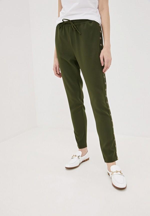 женские классические брюки liu jo, хаки