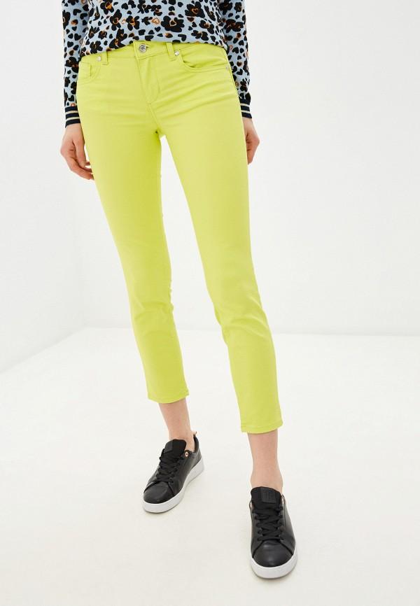 женские классические брюки liu jo, зеленые