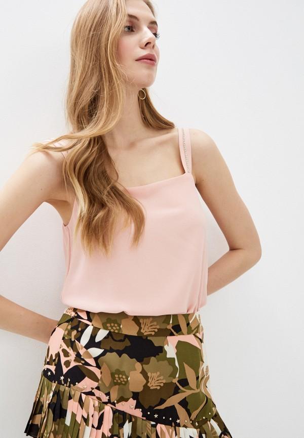 женский топ liu jo, розовый