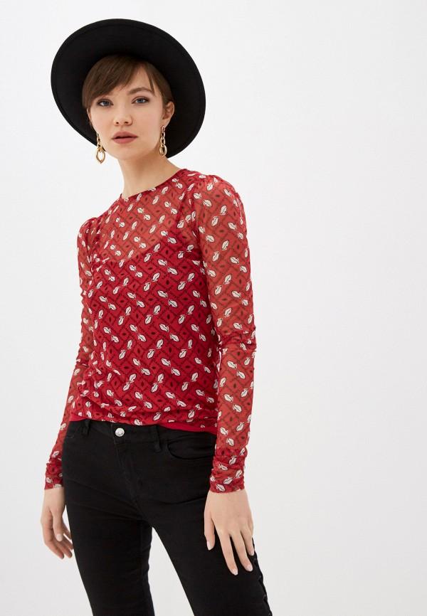 женская блузка liu jo, красная