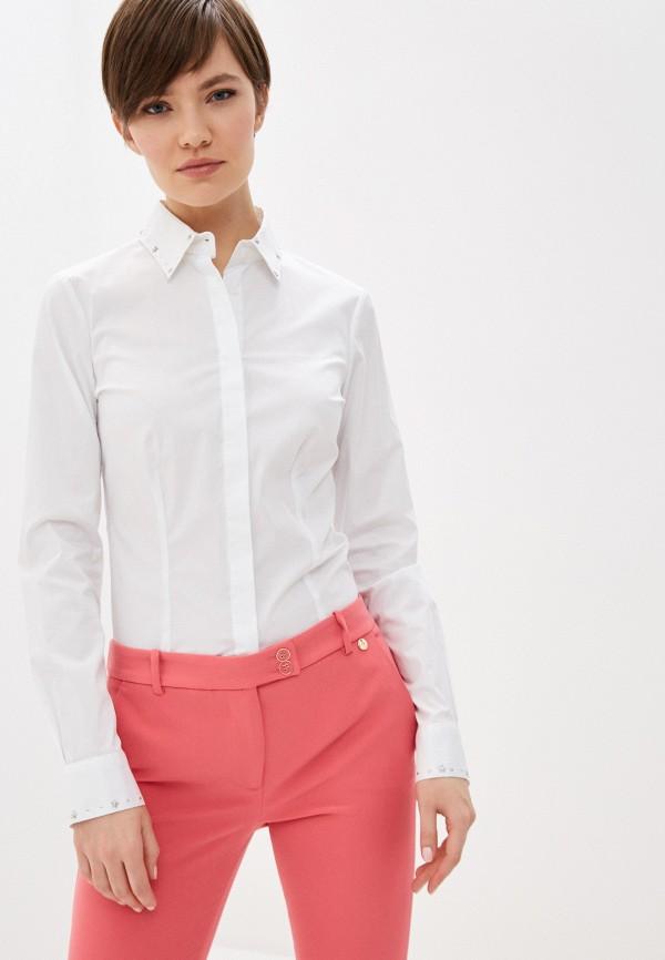 женская рубашка с длинным рукавом liu jo, белая
