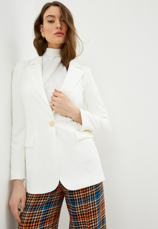 женский пиджак liu jo, белый