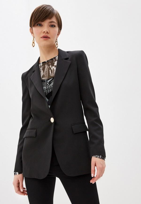 женский пиджак liu jo, черный