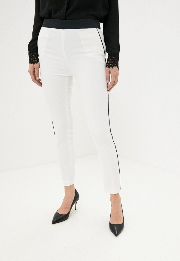 женские классические брюки liu jo, белые