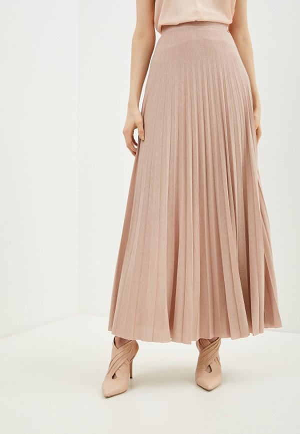 женская юбка liu jo, розовая