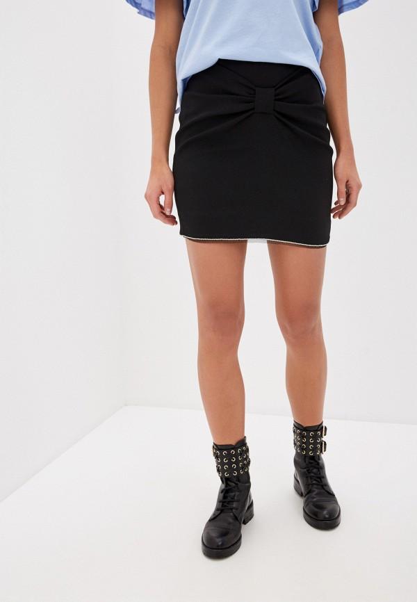 женская зауженные юбка liu jo, черная