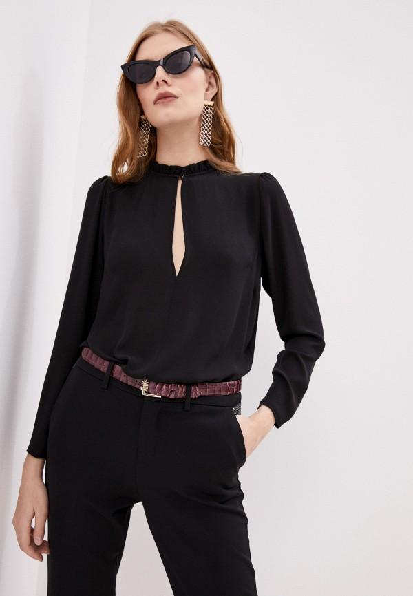 женская блузка liu jo, черная