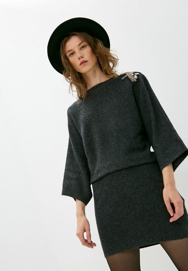 женское платье liu jo, серое