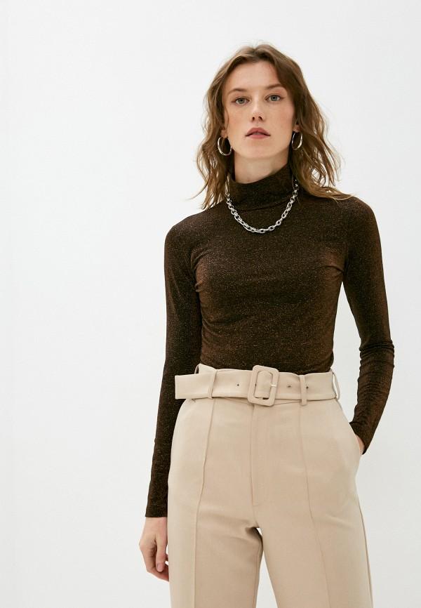 женская водолазка liu jo, коричневая