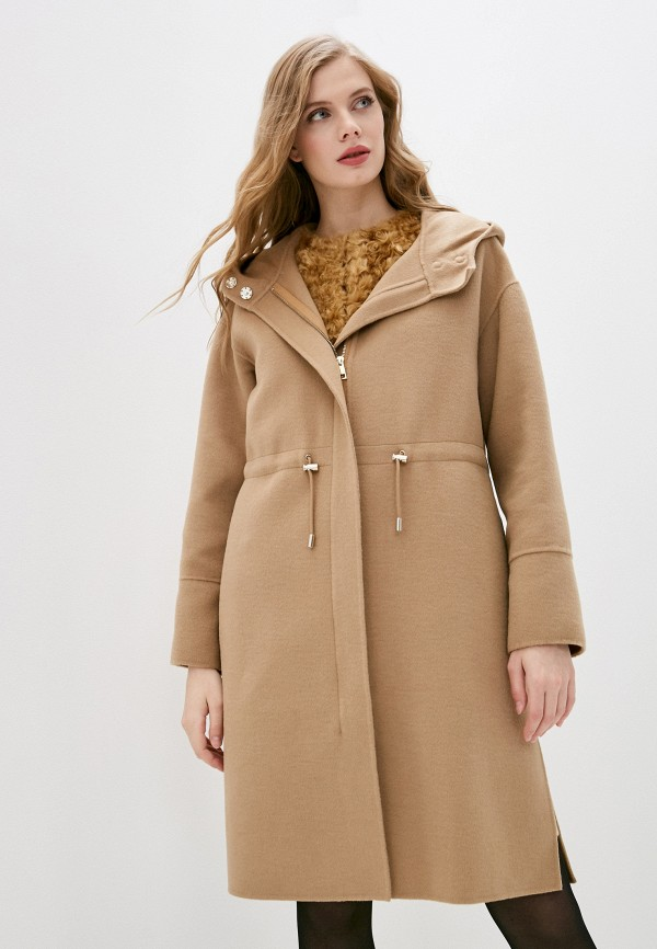 женское пальто liu jo, бежевое