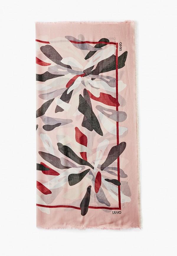 женский платок liu jo, розовый