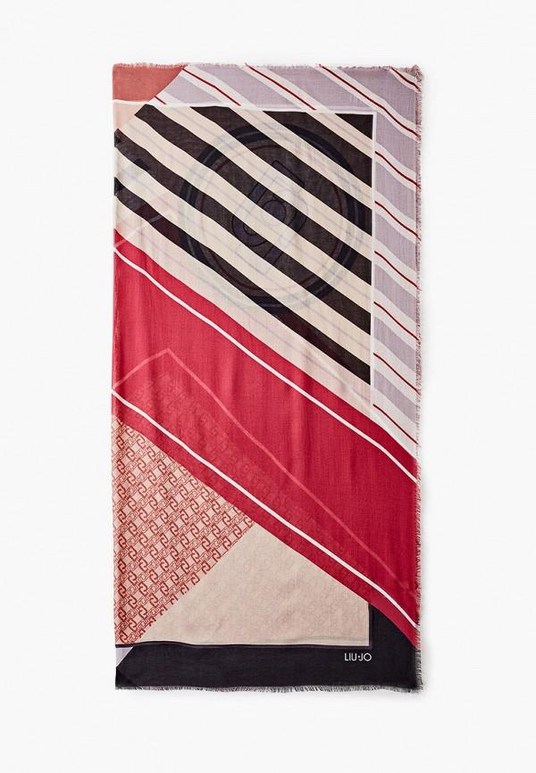 женский платок liu jo, разноцветный